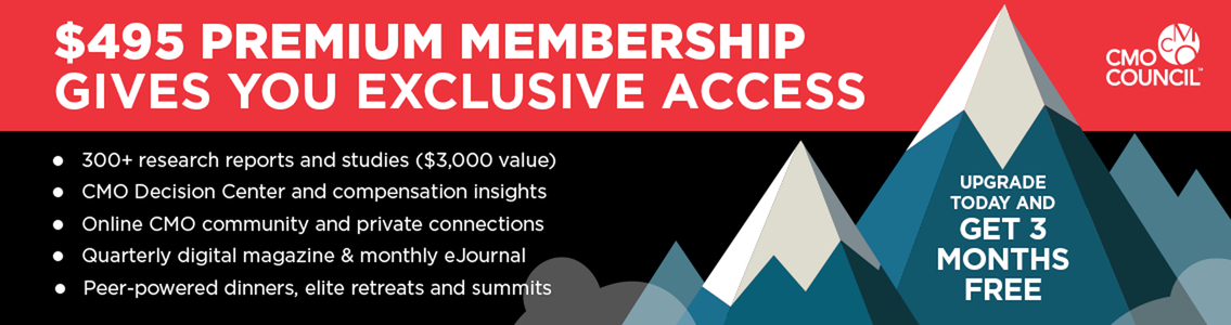 Upgrade For CMO Council Premium Membership And Get 3 Months Free