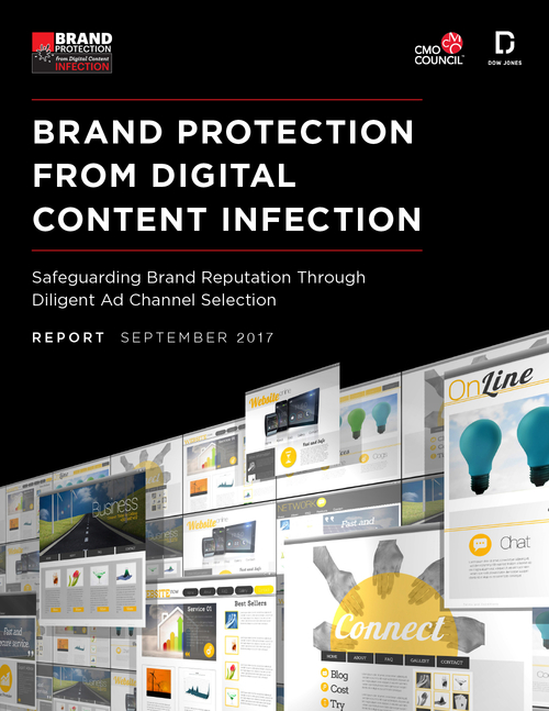Report Cover for Brand Protection From Digital Content Infection