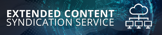 Extended Content Syndication Service